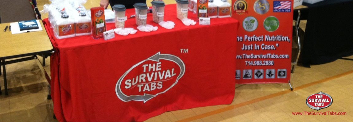 Southern Preppers Expo. The Survival Tabs have arrived in ALABAMA